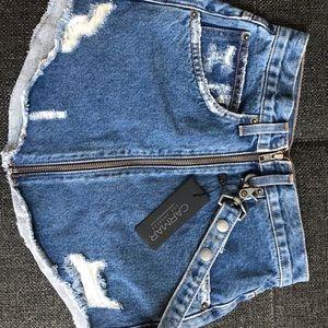 CARMAR DENIM mini skirt
